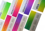 visitekaartjes business cards fluor