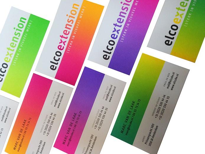 visitekaartjes business cards fluor