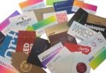 Mooie visitekaartjes en business cards met verschillende druktechnieken en nabewerkingen. Ook voor spoedklussen!