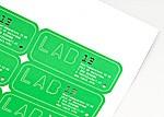 Wij bieden diverse mogelijkheden voor het drukken van stickers en etiketten.